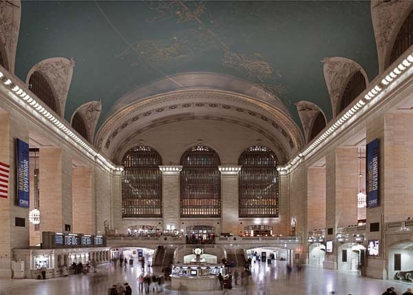 Grand Central Terminal. Not too shabby.
